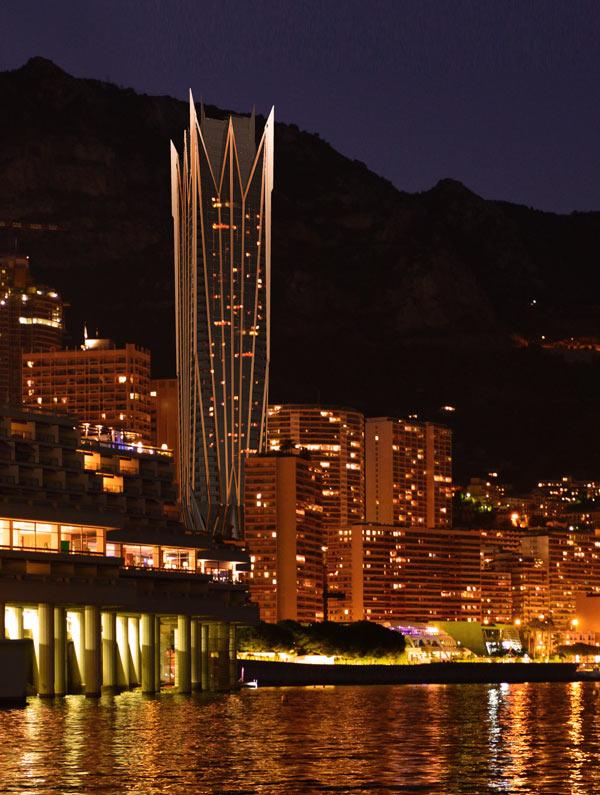 Концепция башни-небоскреба «Monaco Comet»