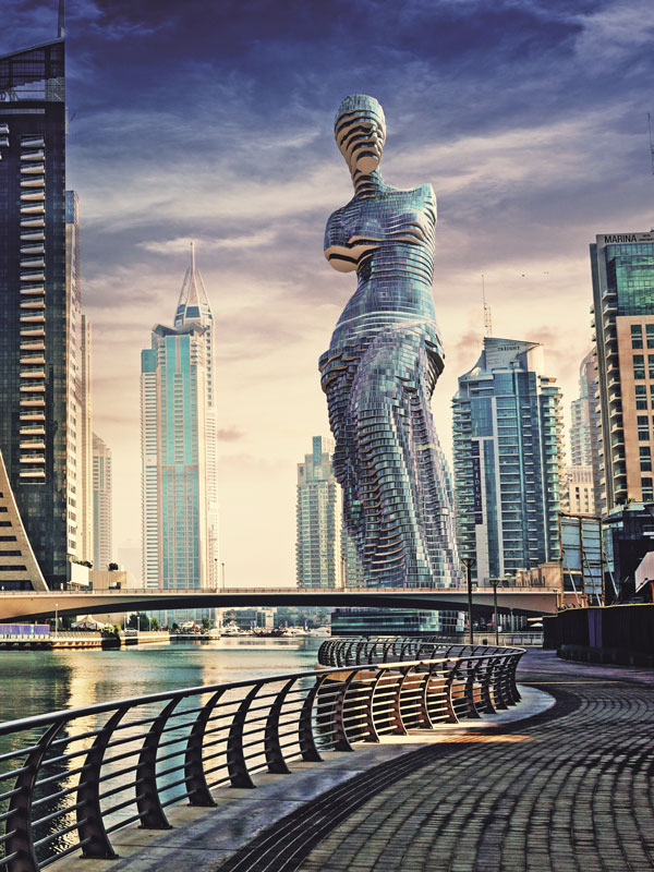 Концепция башни-небоскреба «Венера»