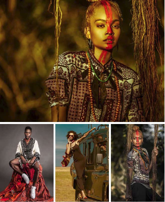 Project «Kenya: Back To Roots», A/W 2014 Adele Dejak, Katungulum Wendwa