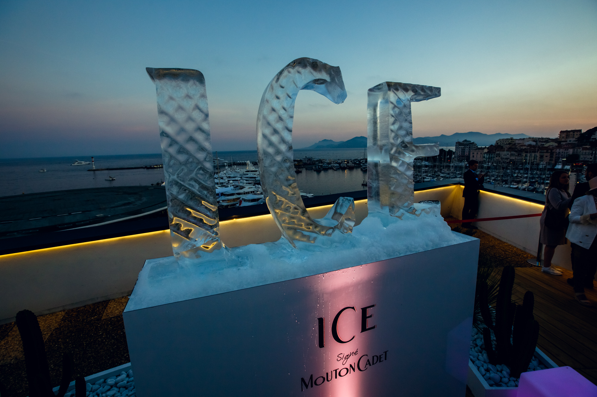 Mouton Cadet Ice Party