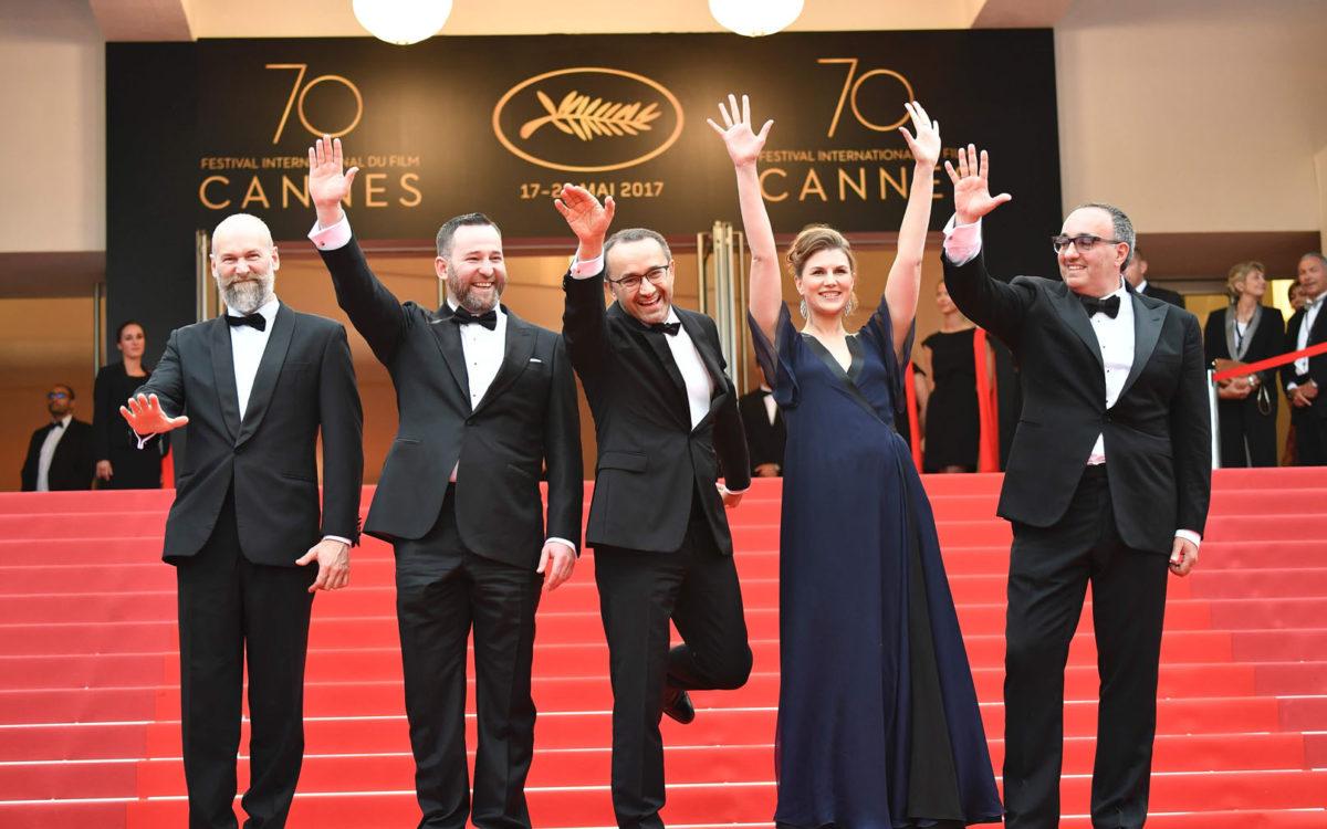 Mikhail Krichman, Alexey Rozin, Andrey Zvyagintsev, Maryana Spivak and Ukrainian producer Alexander Rodnyansky
