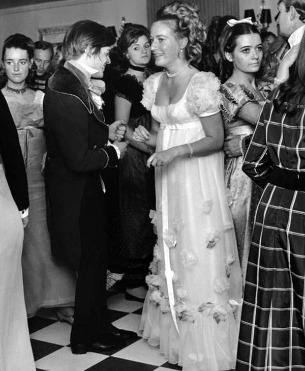 Princess Olga Romanoff at her coming-out ball at the Dorchester Hotel, 29th June 1968