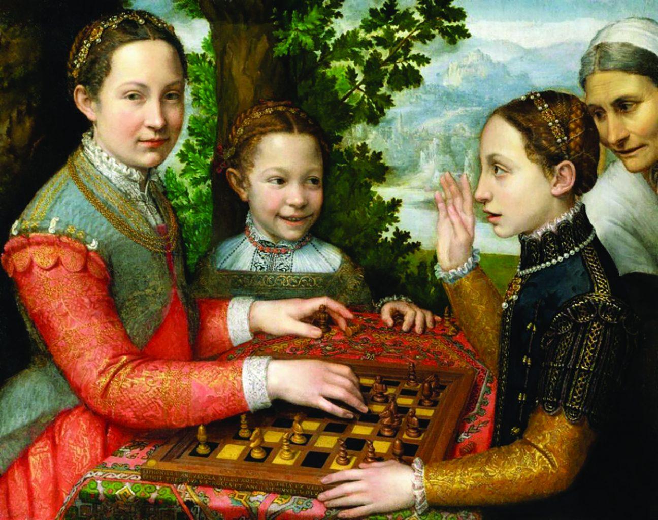 """Игра в шахматы"" (1555)"