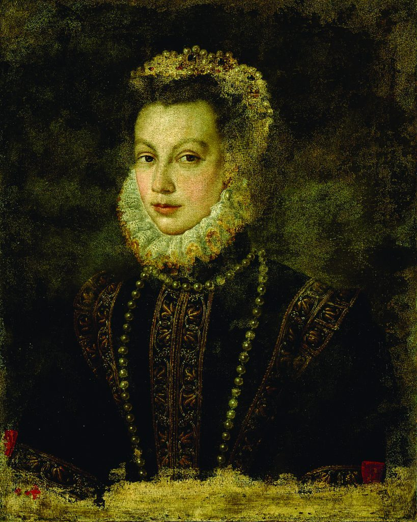 Портрет Елизаветы Валуа