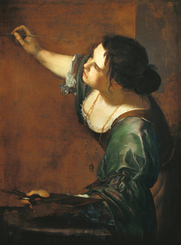 Self portrait Artemisia Gentileschi