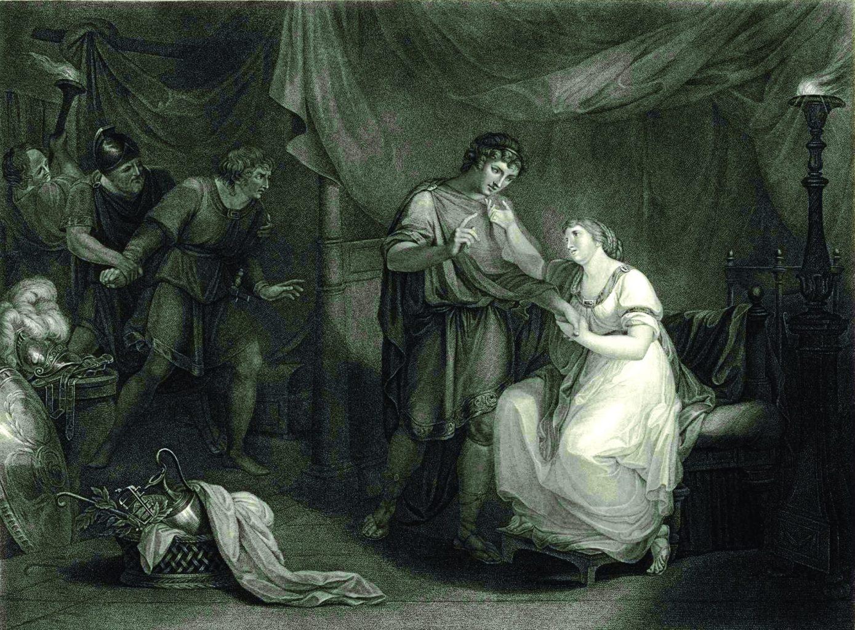 """""""Троил и Крессида"""", акт V, сцена II (1789)"""