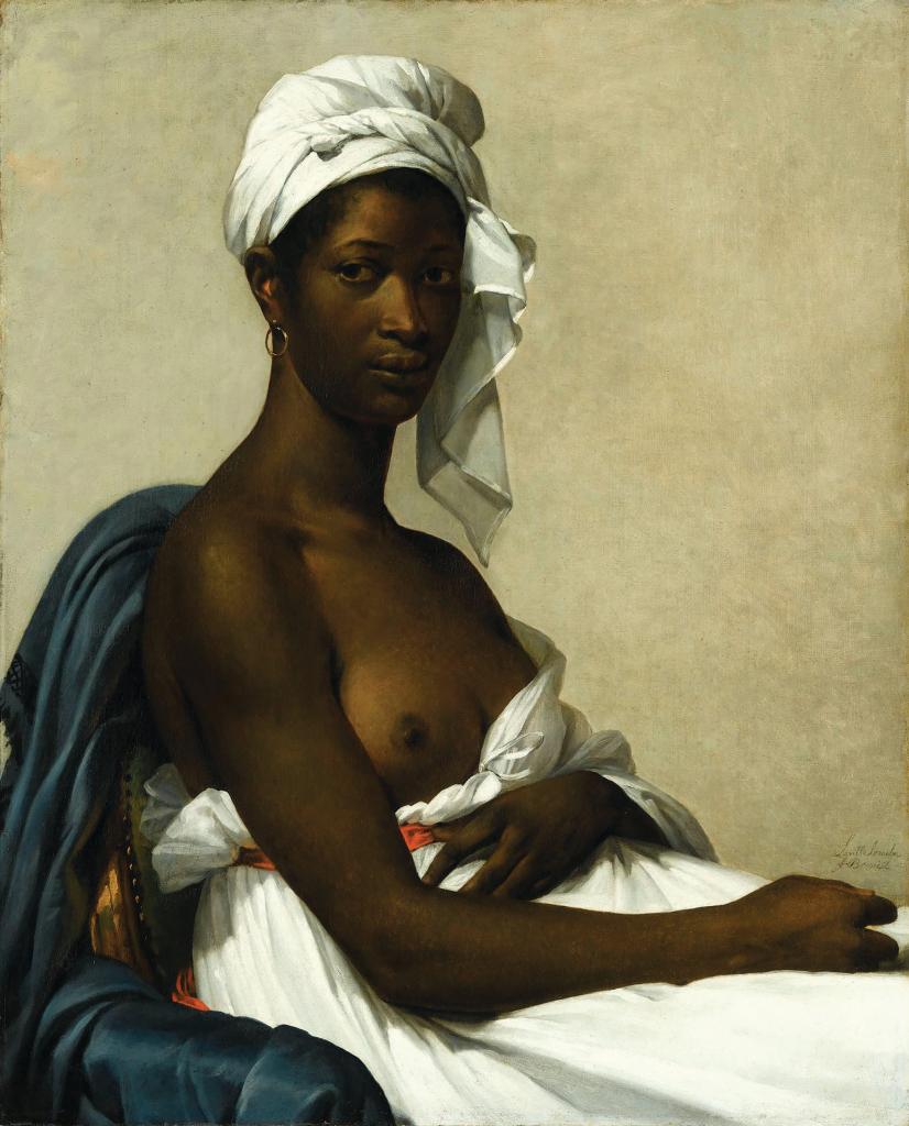 """""""Портрет негритянки"""" (1800)"""