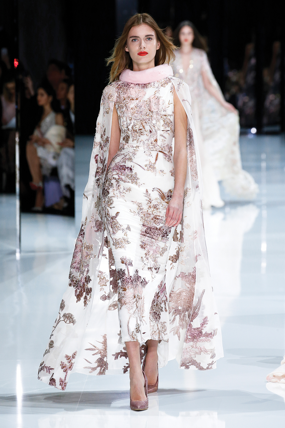 Ralph & Russo Spring/Summer 2018 Couture Show at The Grand Palais in Paris