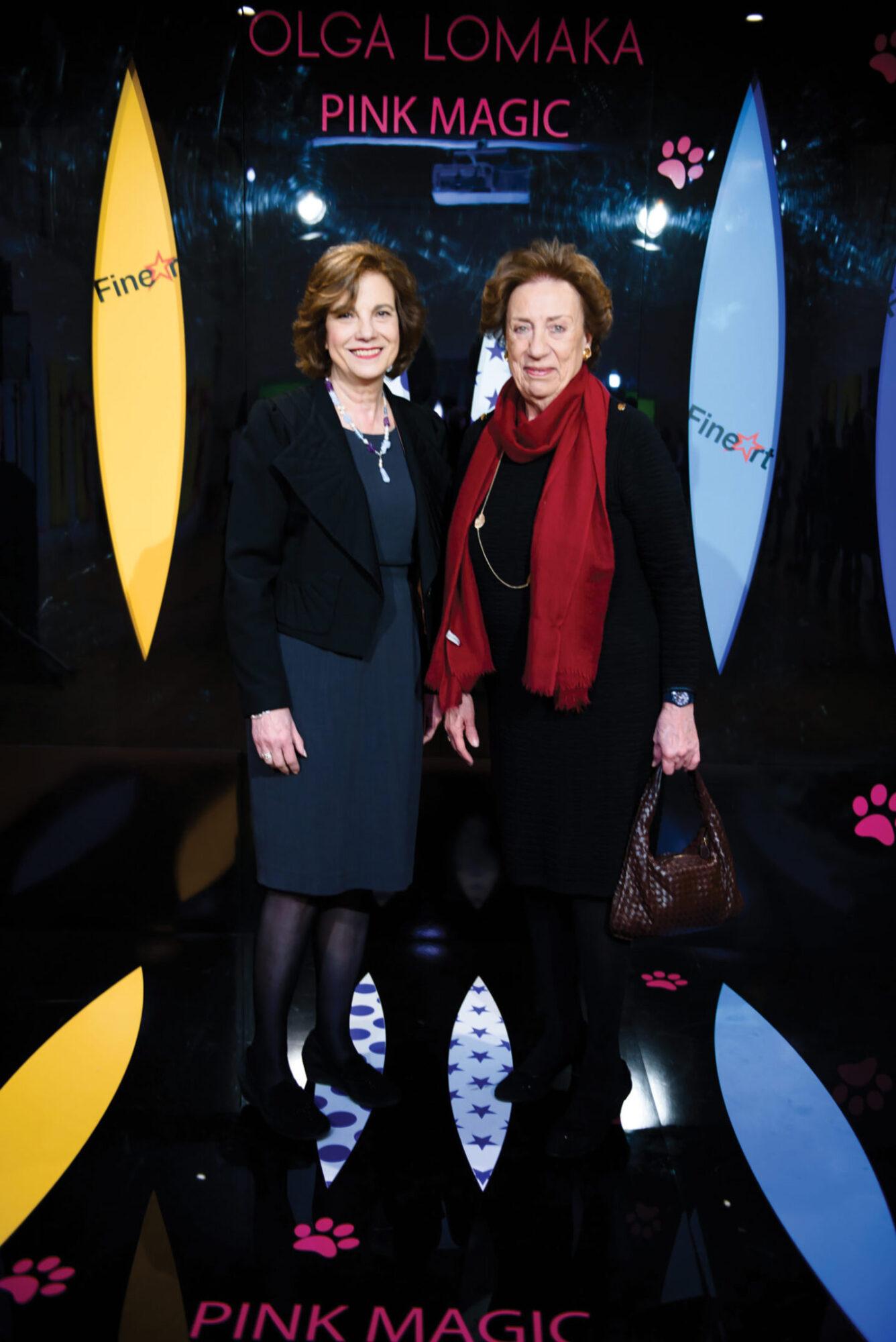 Agatha Kalisperas and Sophie Kydoniefs