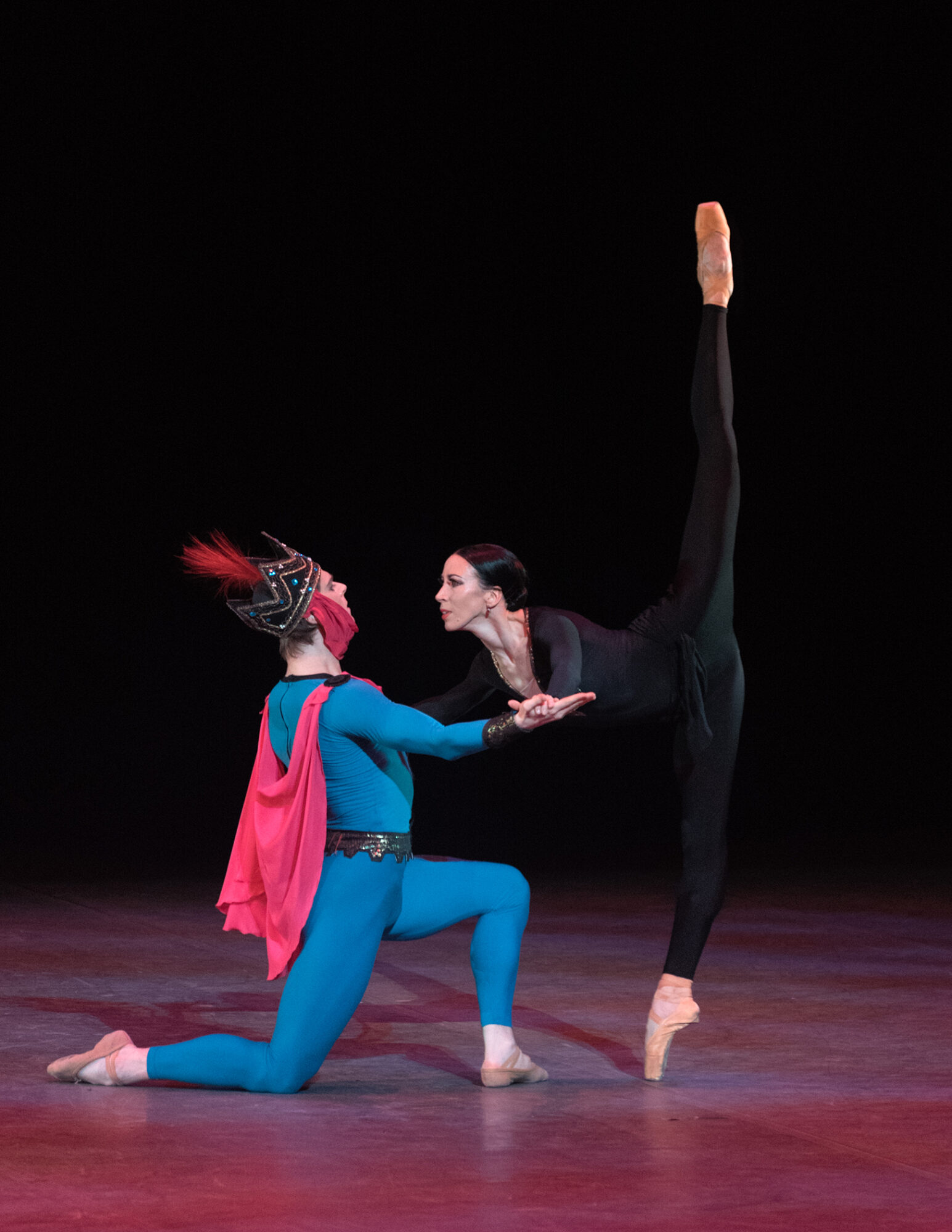 The legend of love Viktoria Tereshkina Vladimir Shklyarov: photo Marc Haegeman