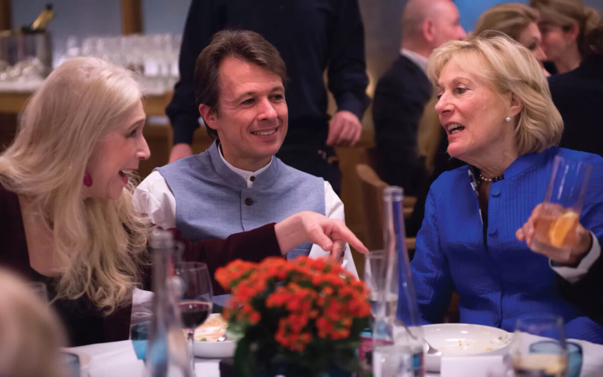 Lady Colin Campbell, Thierry Macquet and HRH Princess Olga Romanoff