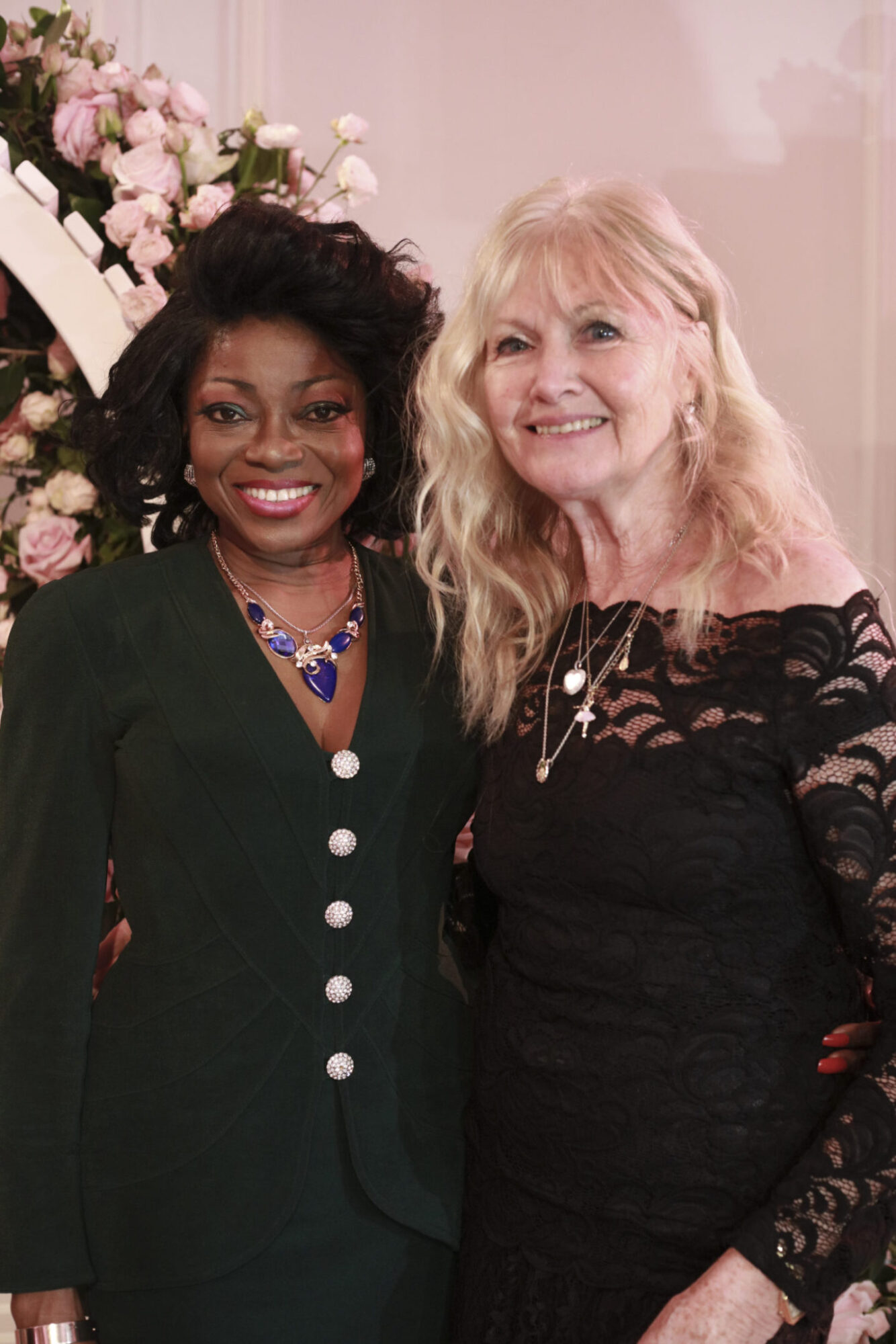 Patti Boulaye and Debbie Moore