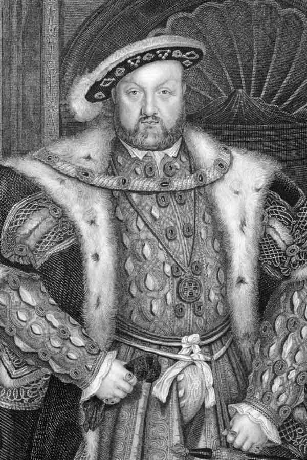 Британский король Генри VIII, видите сходство?