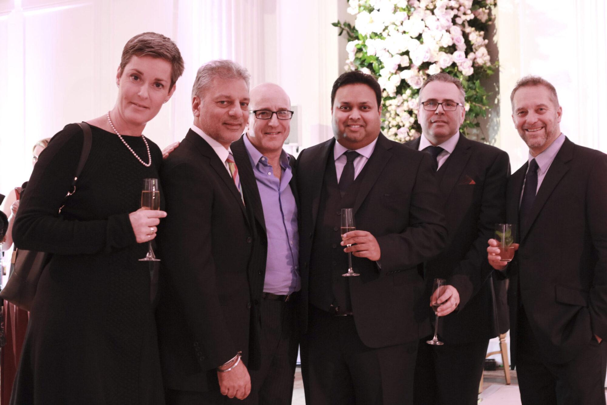 Sasha Dabliz (Schroders), Tony Matharu, Paul McKenna, Kevin Rochay, Nicholas Baker (Rochay), Stephen Edwards (Rochay)
