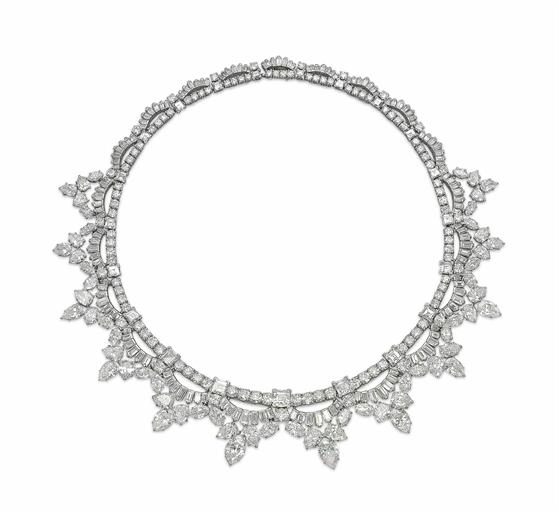 Diamond necklace by Cartier, estimate CHF450,000-650,000