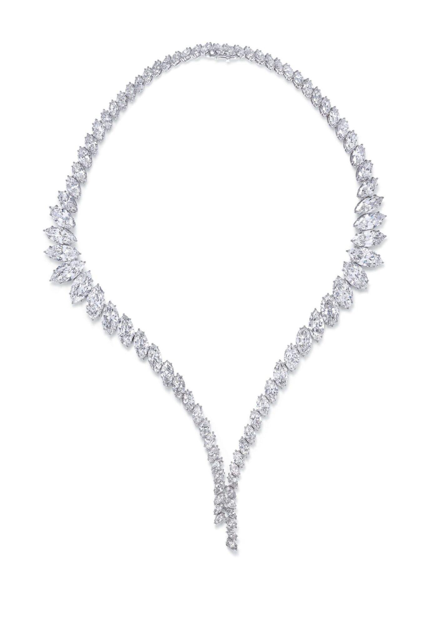 Diamond necklace by Harry Winston, estiamte CHF400,000-600,000