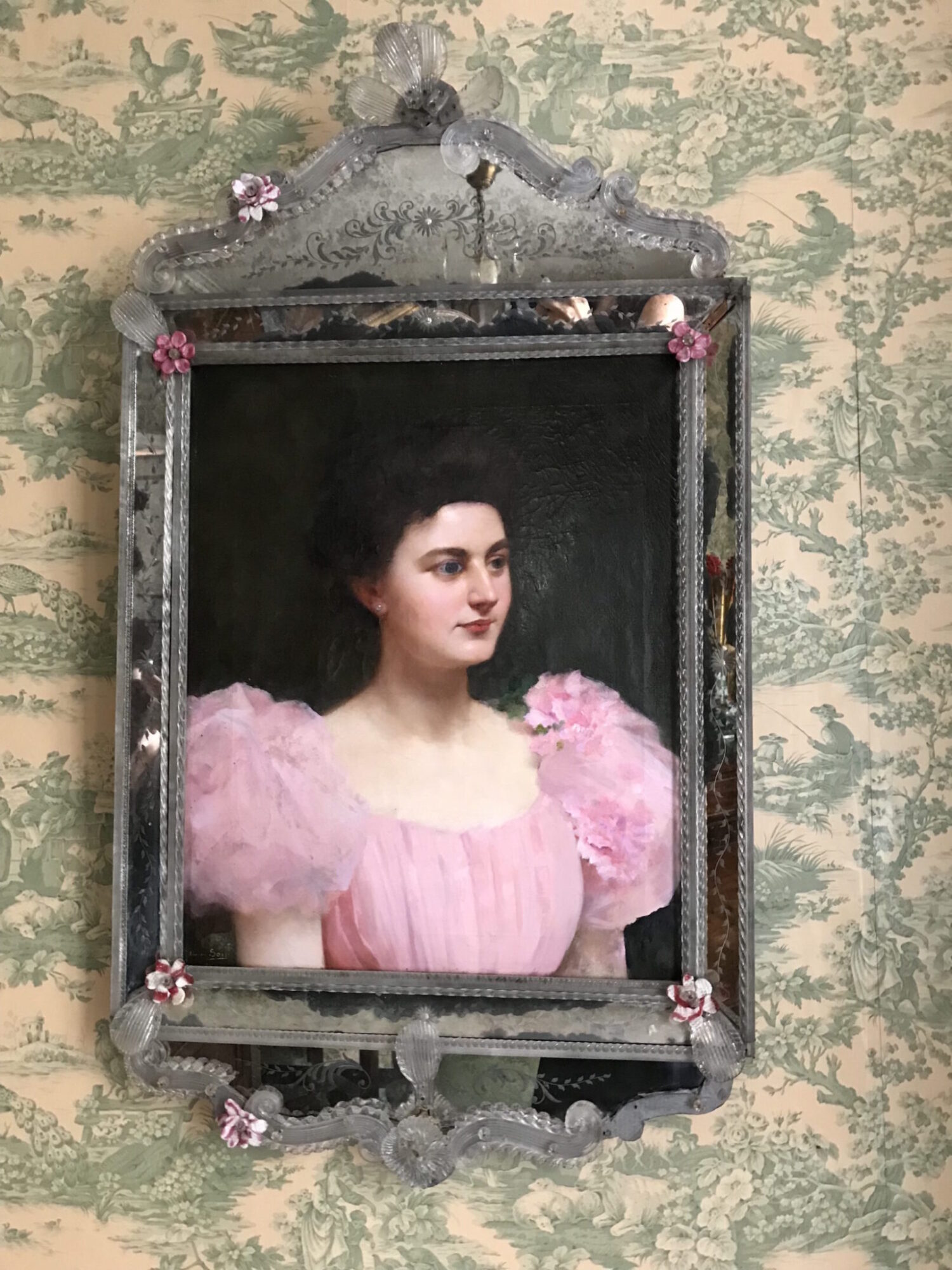 Misia's boudoir painting