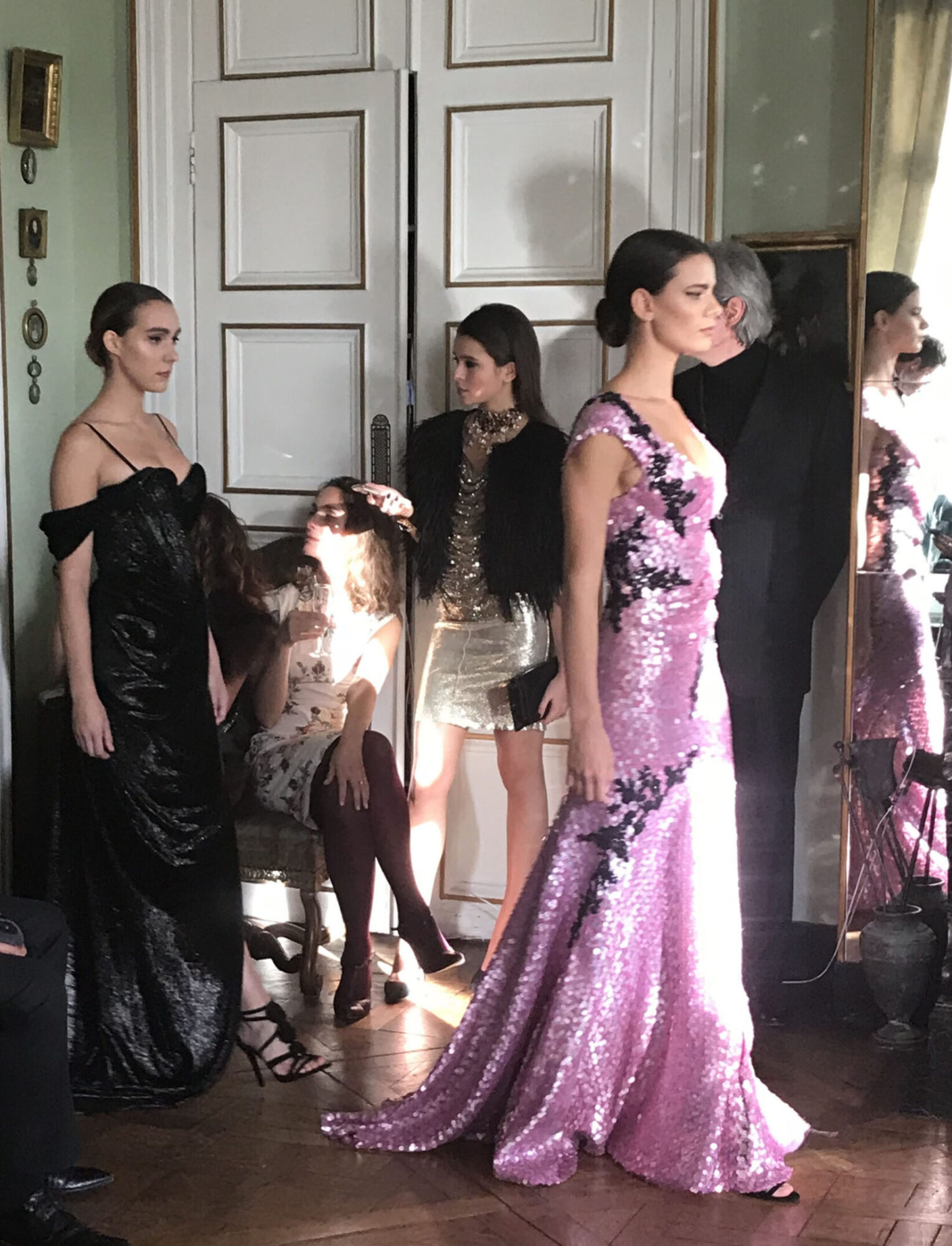 Salon presentation, Haute Couture mastery by Eymeric François