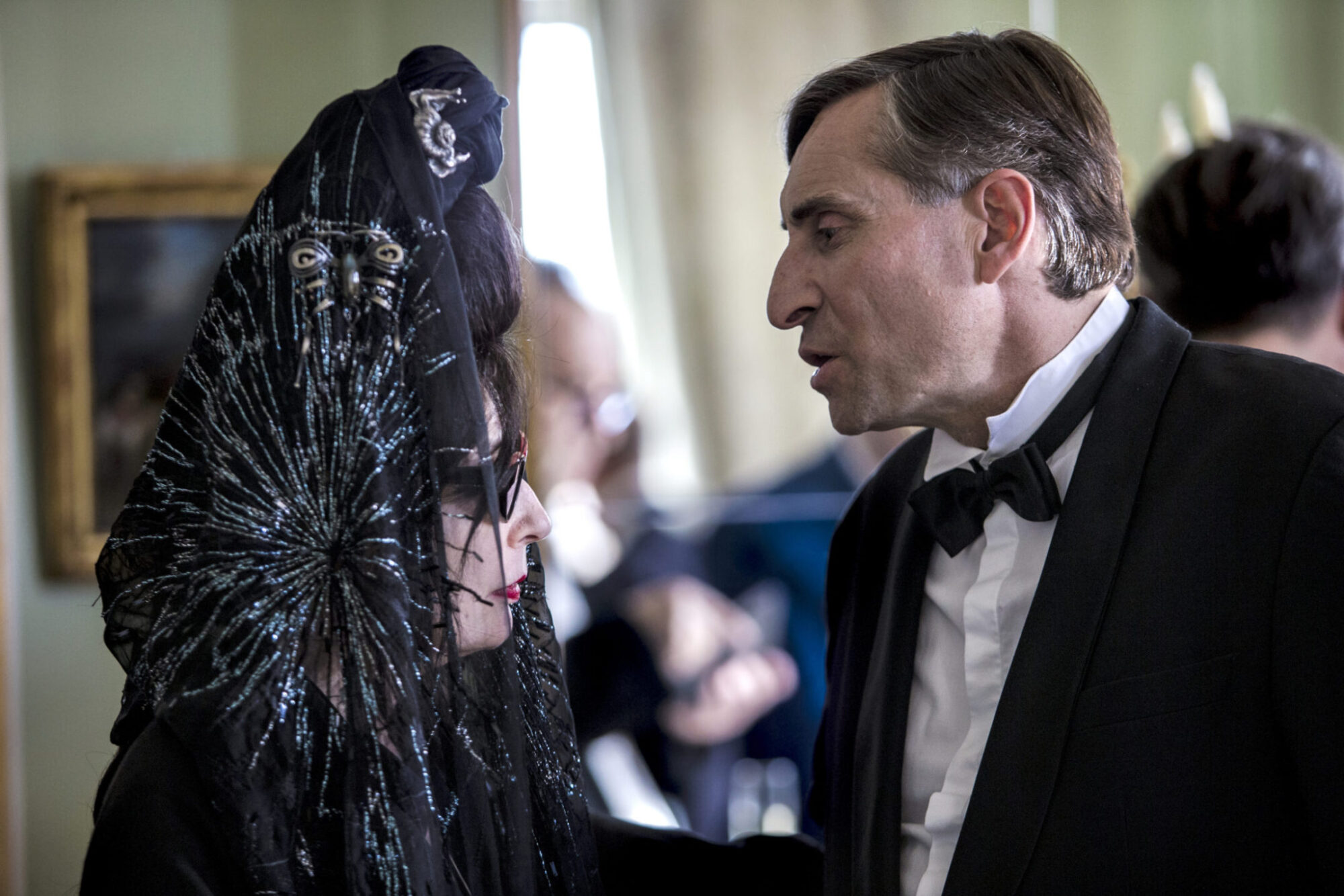 Diane Pernet, Baron Marc Osmont d'Amilly about Misia and Coco Chanel / Photo: Neha Ganeriwal