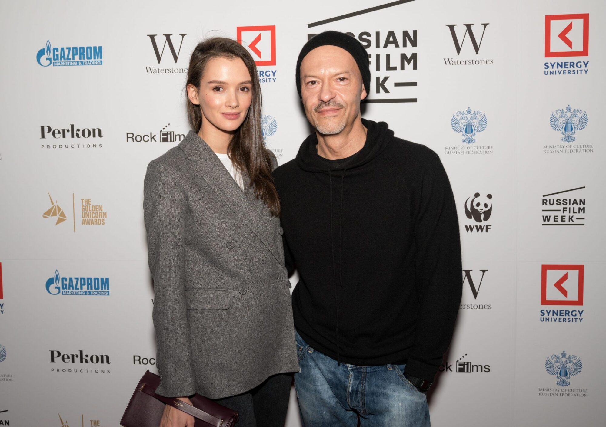 Золотой Единорог: Паулина Андреева и Федор Бондарчук, Лондон, 2017