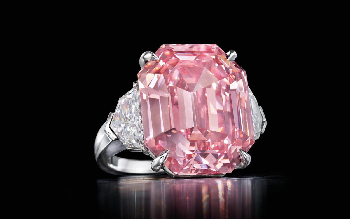 The Pink Legacy Diamond