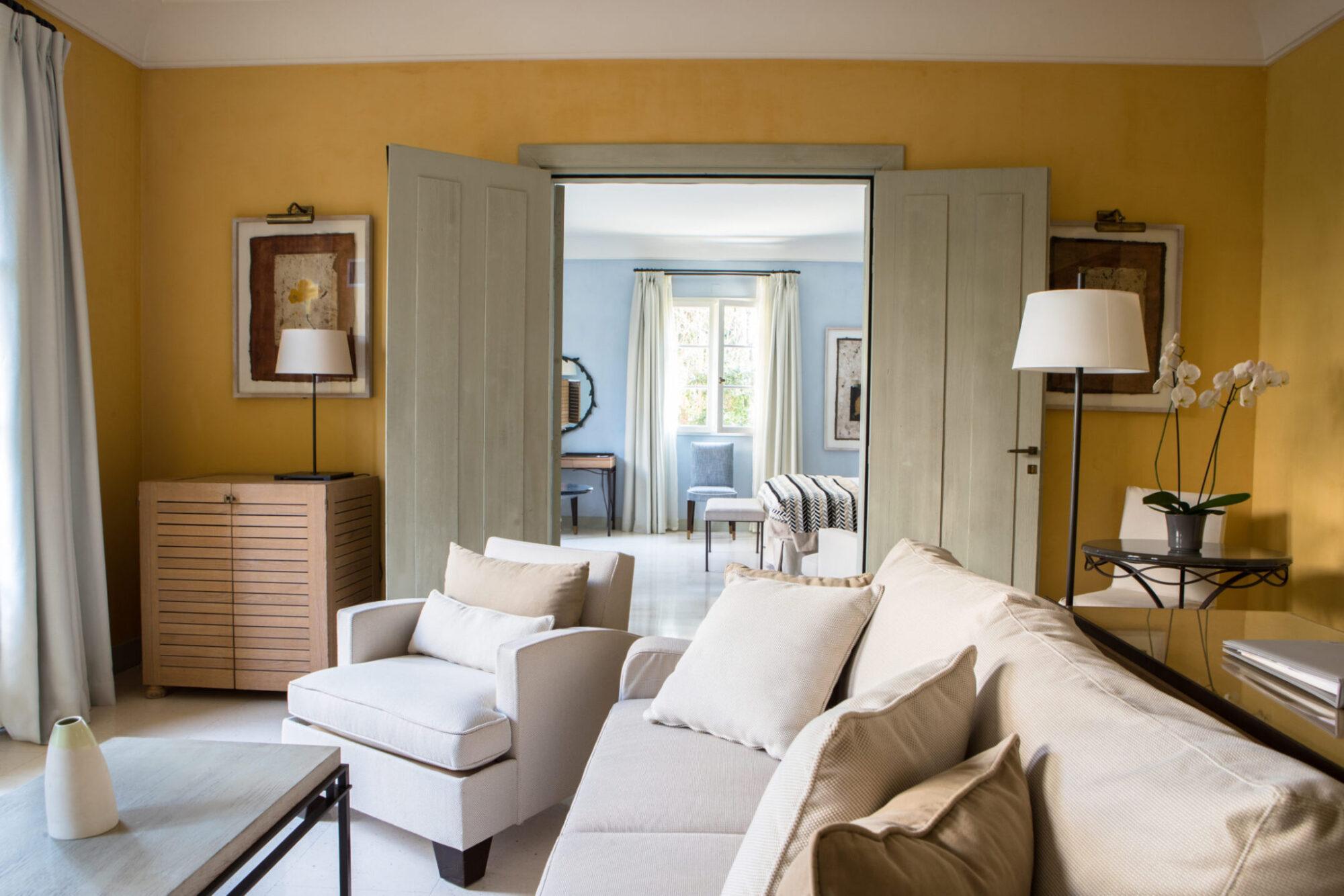 Suite Orangerie Salon et chambre