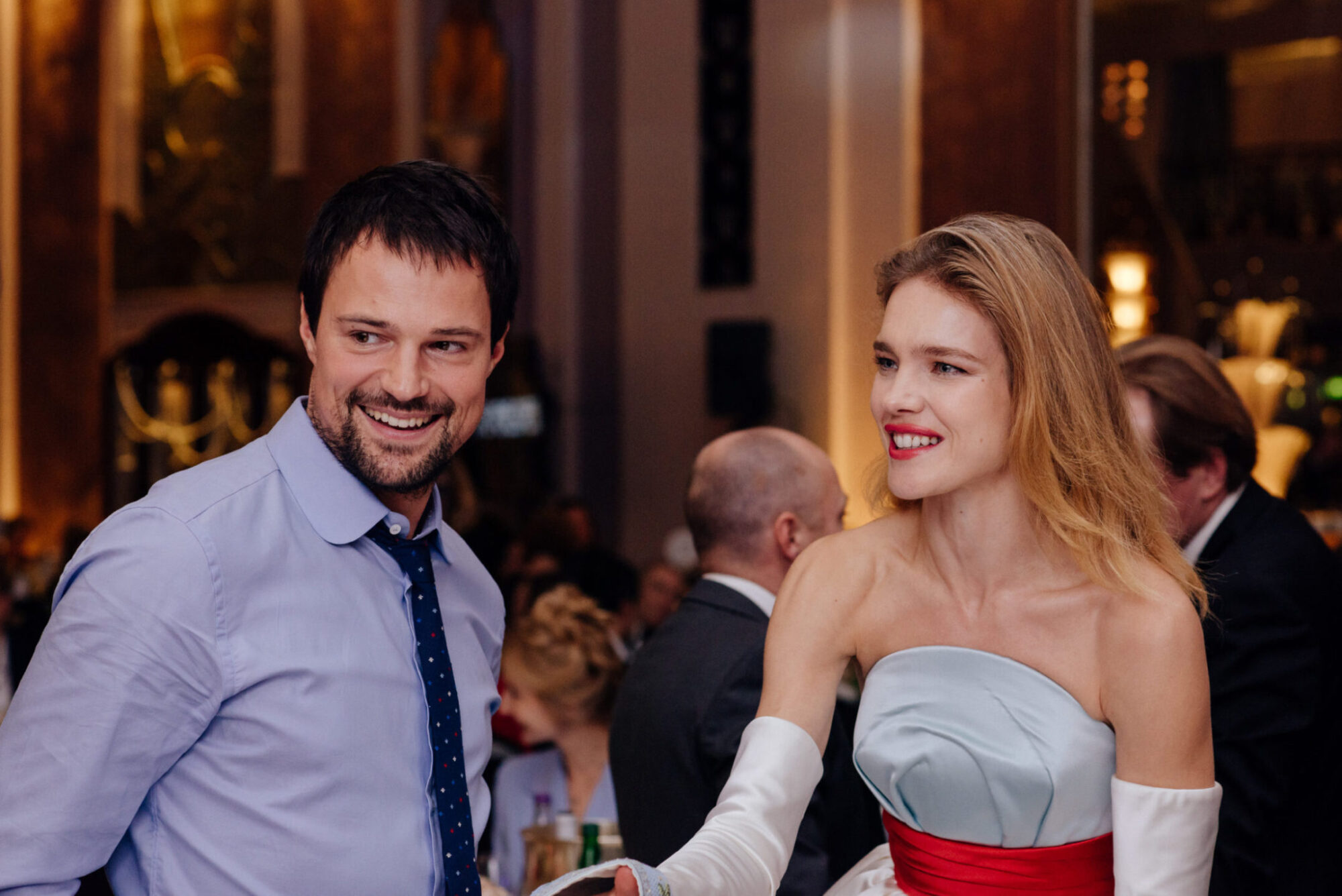 Danila Kozlovsky, Natalia Vodianova / Photo: Olga Kotilevskaya