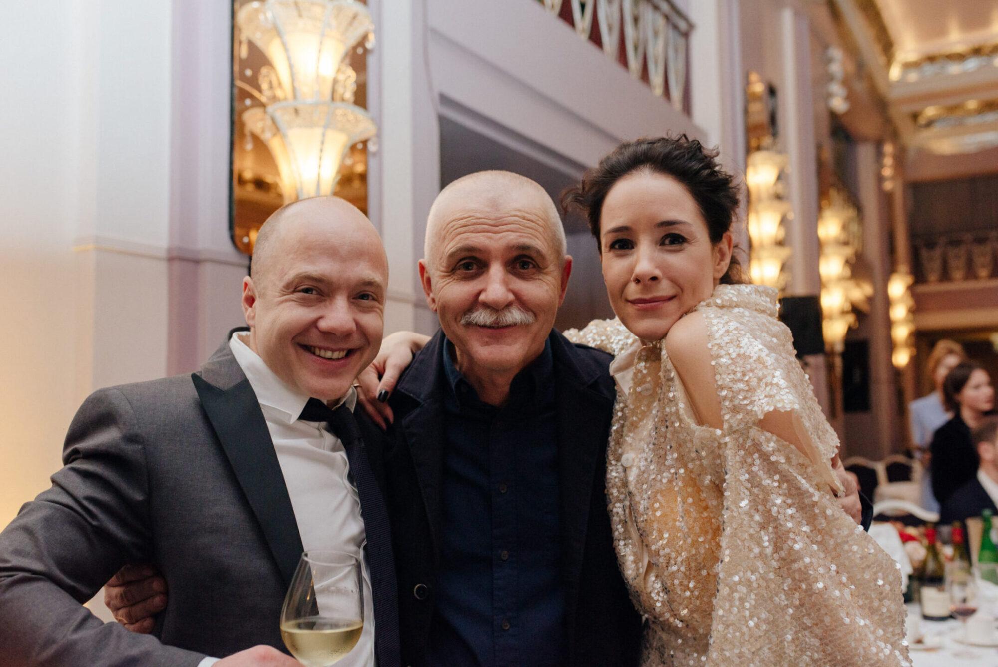 Yevgeni Stychkin, Olga Sutulova, Aleksandr Nosovsky / Photo: Olga Kotilevskaya