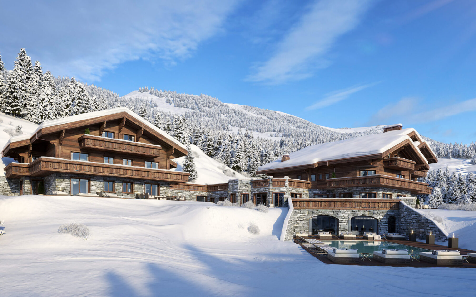 Ultima Crans-Montana Chalets, Spa & Clinic Exterior