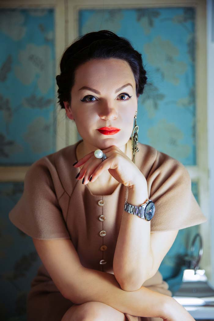 Наташа ван де Минкелис в платье Anderson House. Bespoke fashioners, www.andersonhouse.co