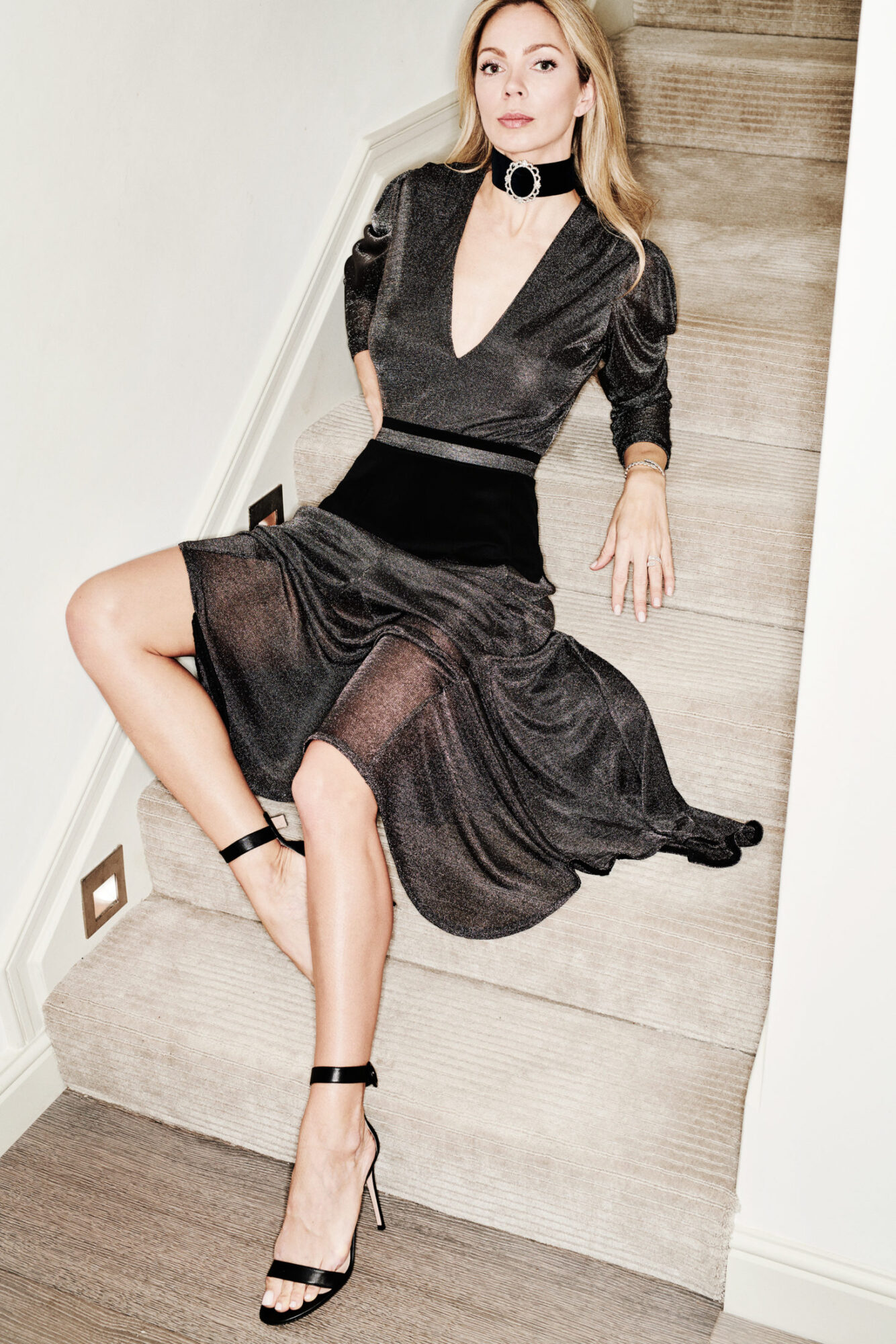 Dress: DONATA DAVIDOFF, Jewellery: DAVID MORRIS, Photo: RASMUS MOGENSEN, Makeup: RUBY HAMMER, Hair: SHIMA AT SALON SLOANE