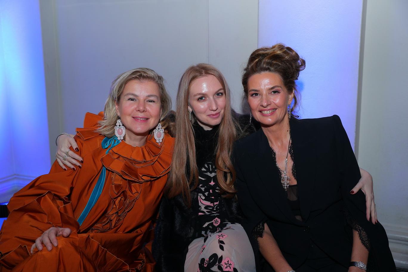 Stephanie Gorbunova, Frieda Kaplan Gross (NOA Jewellery), Alina Nizova