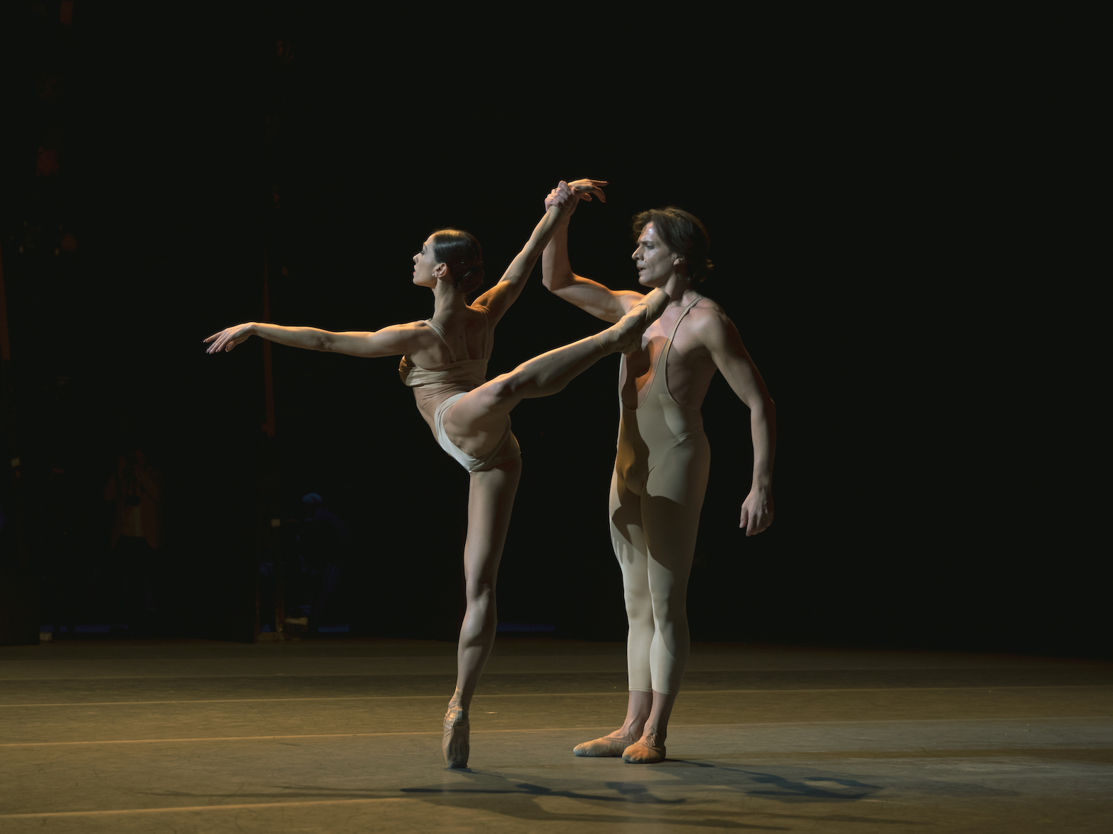 Luisa Leluzzi and Giuseppe Picone in Elegie. Photo Andre Uspenski