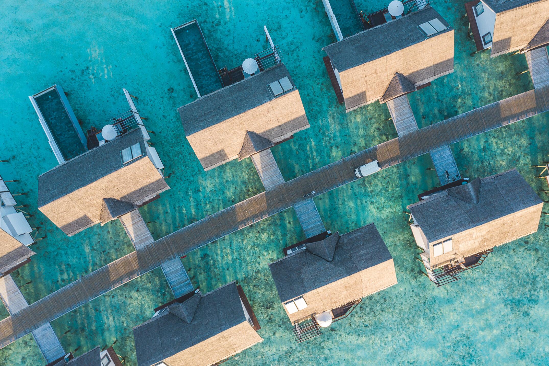 OZEN LIFE MAADHOO - Aerial - Wind Villas 2