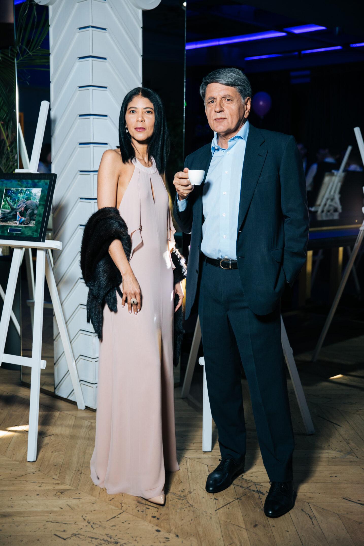 Жанин Арнольди Зих и Вадим Деркач