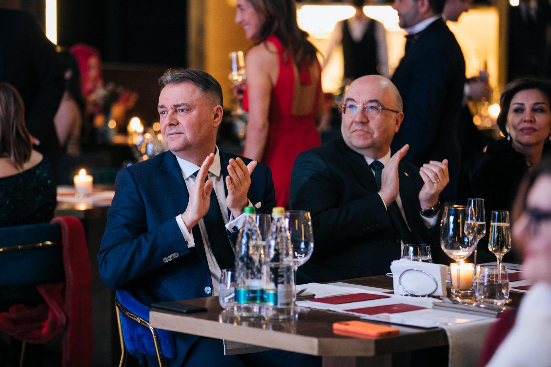 Петр Зих, Мехмет Самсар (посол Турции в РФ), Феруза Самсар