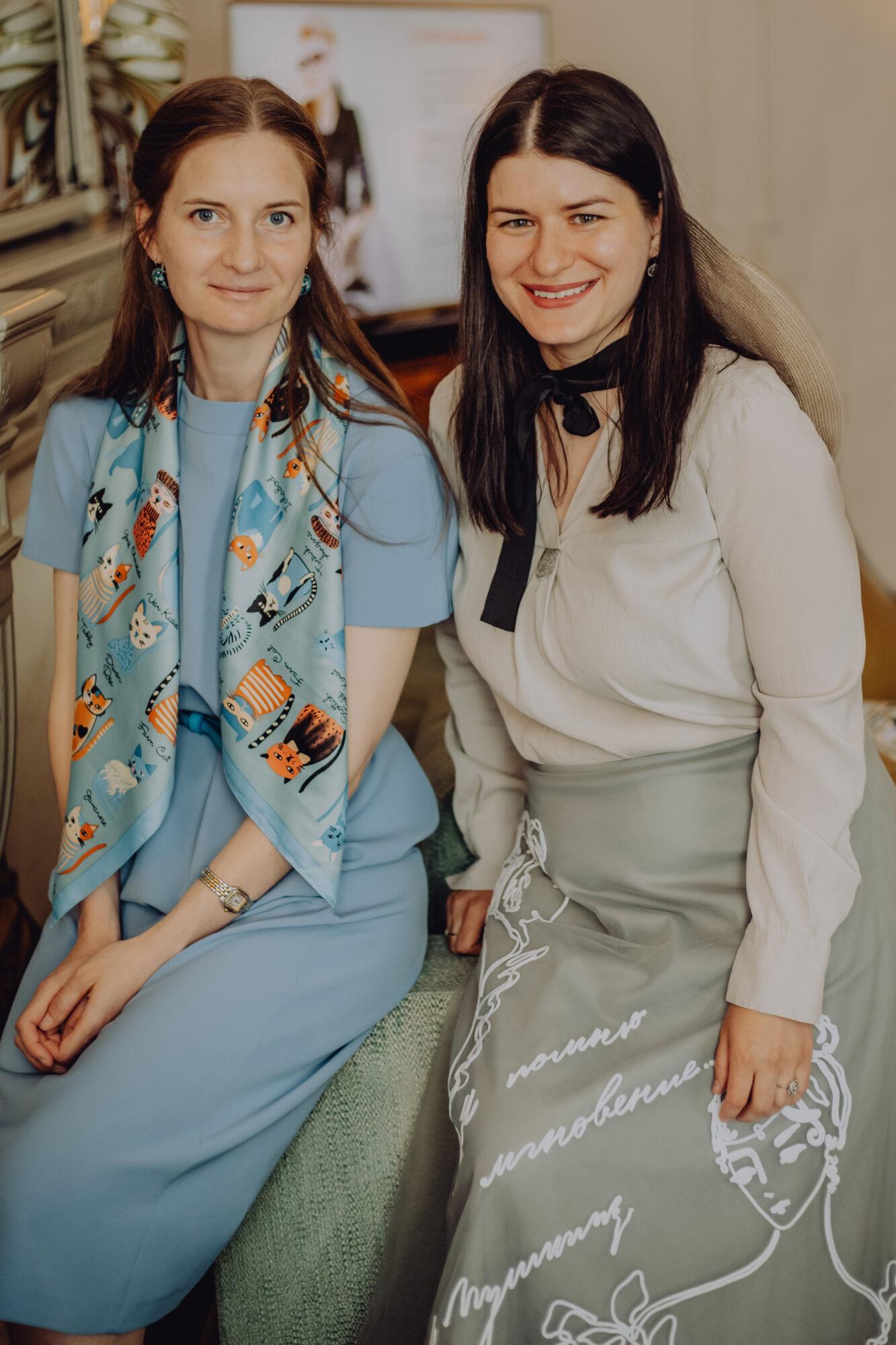 Светлана Лондон и Екатерина Канаева (PRIMALITY) на мероприятии Women Who Inspire в Лондоне. Photography: Victoria Maze