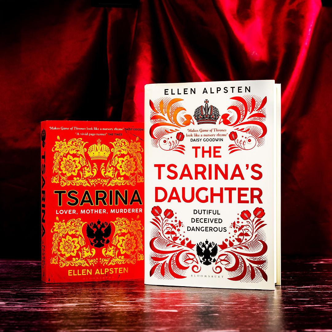 Tsarina's Daughter by Ellen Alpsten