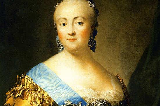 Empress Elizaveta Petrovna, 1757 / Virgilius Eriksen