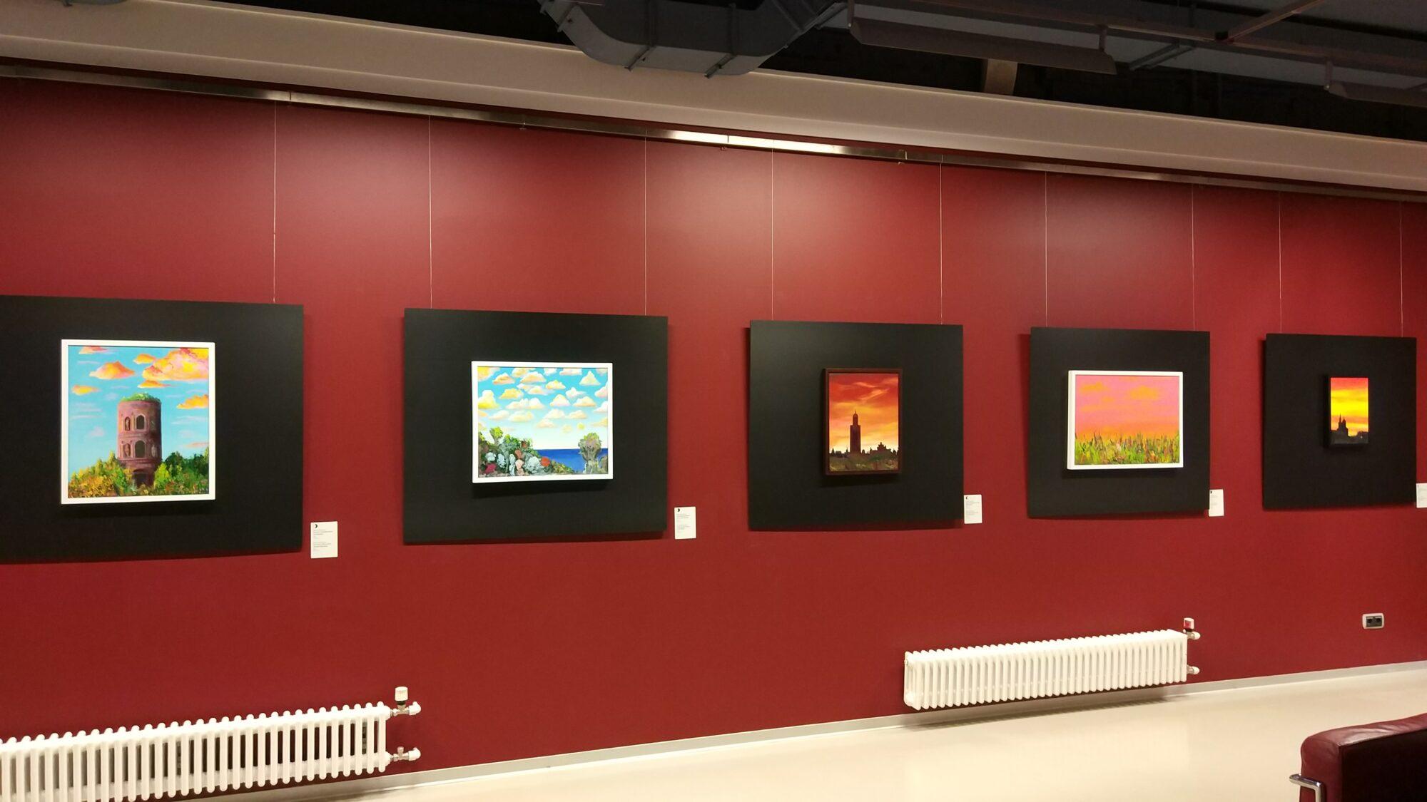 Картины Бориса Гребенщикова в музее Эрарта, выставка «Азбука лунного света», автор: Birulik