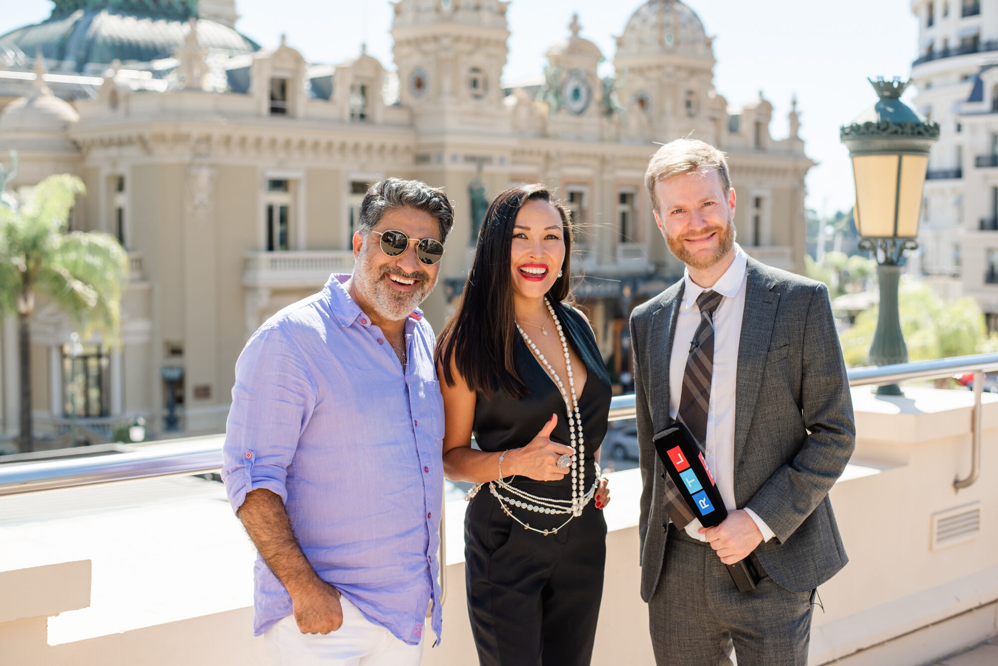 Soheil Zadeh, Gulshat Uzenbaeva, Dominique Fleckinger (RTL)